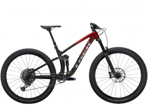 TREK FUEL EX 8 GX 2021 Rage Red to Dnister Black Fade