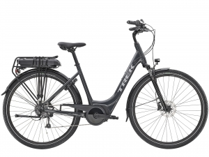 TREK VERVE+ 1 400Wh LOWSTEP 2021 Solid Charcoal